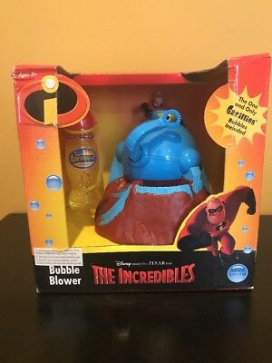 Disney Pixar The Incredibles BOB Bubble Automated Blower Mr Incredible