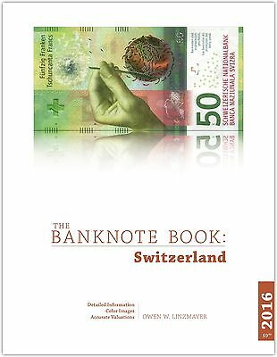 Switzerland chapter from best catalog of world notes, The Banknote Book