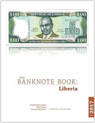Liberia chapter from new catalog of world notes, The Banknote Book