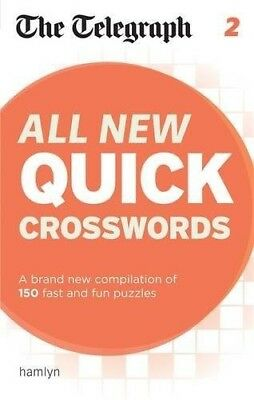 The Telegraph: All New Quick Crosswords 2 (The Telegraph Puzzle Books) - New Boo