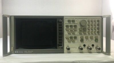 Agilent 8753C Network Analyzer 30kHz to 6GHz with options 02,06,10-Ships today!!