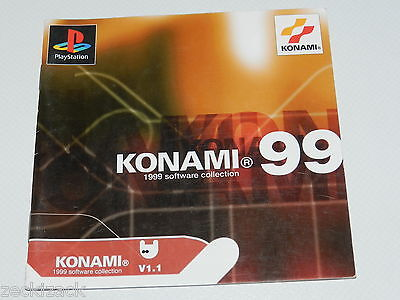 Playstation - Konami 99 - 1999 software collection