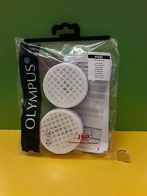 Olympus P2 Twin Filter mask dust filter against solid aerosols only