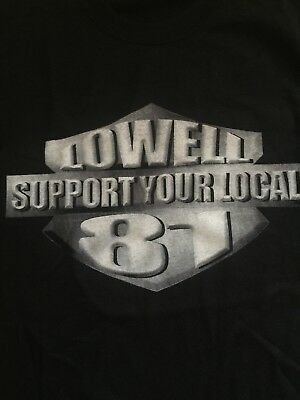 RARE HELLS ANGELS Lowell Support Your Local 81 Known Associate Large New  Sharp