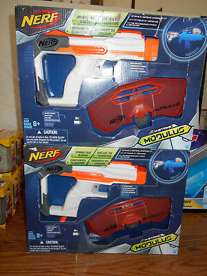 Hasbro NERF N-STRIKE MODULUS Strike and Defend Upgrade Kit NEW Lot of 2