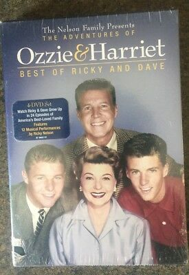**The Adventures of Ozzie & Harriet: Best of Ricky & Dave, DVD,brand new, sealed