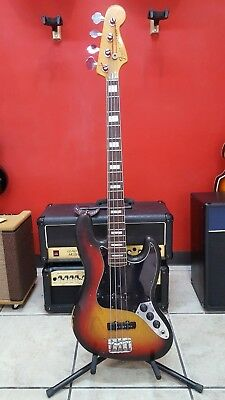 vintage fender jazzbass 1978 USA, with original hardcase