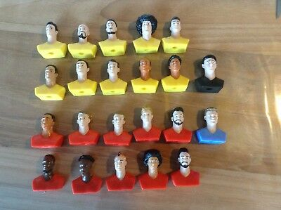 22 figurines redtogether rode duivels kicker carrefour russia 2018