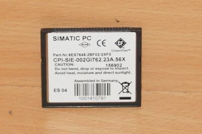SIEMENS 6ES7 648-2bf02-0xf0 Compact Flash 2GB