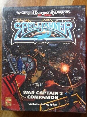 AD&D 2nd Edition - Spelljammer - War Captain´s Companion - Box (AD&D)