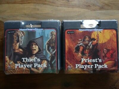 AD&D 2nd Edition - Thief´s Player Pack | Priest´s Player Pack (AD&D, TSR)
