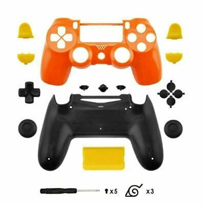 New PS4 Slim/Pro JDS 040 V2 Controller Naruto Custom Replacement Full Shell