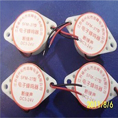 2pcs SFM-27/3015B Active Piezoelectric Buzzer Intermittent Sound 3~24V