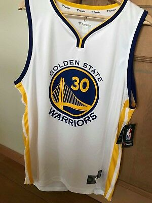 Maillot de basket NBA Golden State Warriors taille L