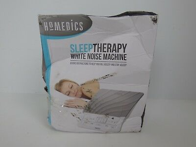 HoMedics Portable Deep Sleep Sound Therapy White Noise NEW TATTY BOX
