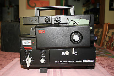 Vintage 8mm ELMO ST600M Film Projector JAPAN