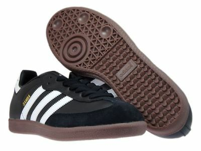 adidas Originals Samba Classic Mens Black White Trainers 019000