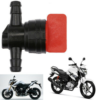 Universal Fuel Tap Scooter Moped Motorcycle for 6mm Gasoline Hose Switch Black L