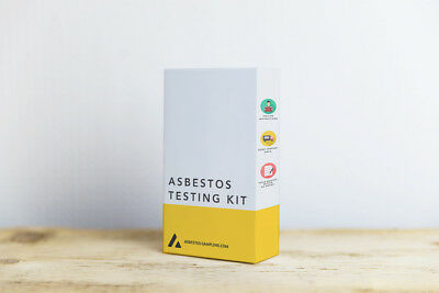 DIY Asbestos Testing Kit - 1 X Sample, Test Fee Included - Dedicated Supplier