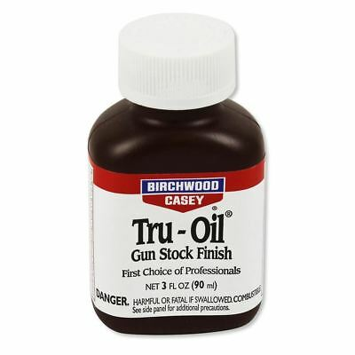Birchwood Tru-Oil Pistola Stock Acabado 3oz (sobre 25mm)