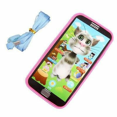 1pc Baby Simulator Music Phone Touch Screen Children Educational Learning Toy Gi