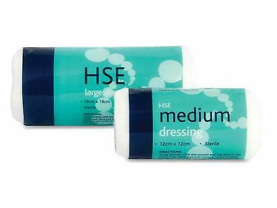Reliance Medical HSE Dressings with Conforming Stretch Bandage - Medium & Large