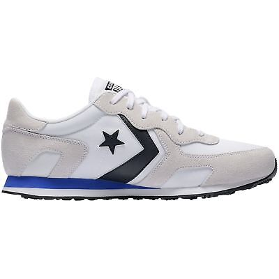 b9afda2014fc Converse Thunderbolt Ox White Hyper Royal Mens Suede Mesh Low-top Trainers