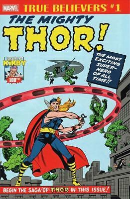 True Believers Kirby 100th The Mighty Thor #1