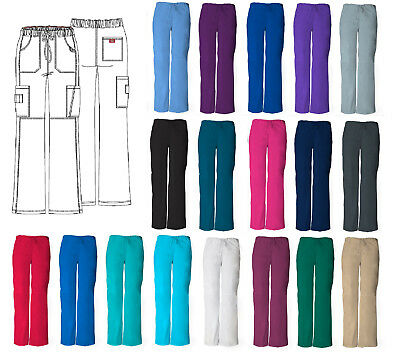 Dickies Cargo Scrub Pant Women's EDS Style 85100 Pick Size & Color Free Shipping
