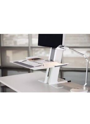 Humanscale Light Mount Quickstand With Large Platform White