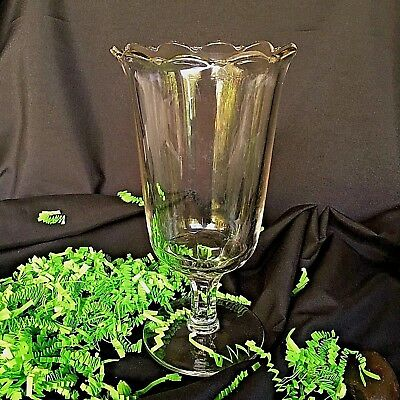 Eapg Celery Vase Victorian Pattern Glass Antique Pressed Clear