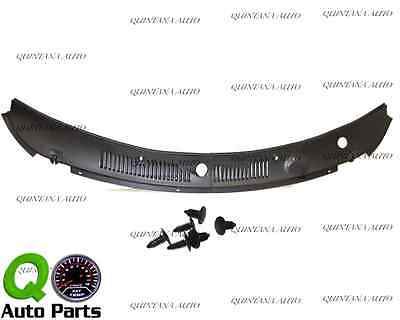 New IMPROVED Windshield Wiper Cowl Vent Grille Panel Hood 99-04 Ford Mustang