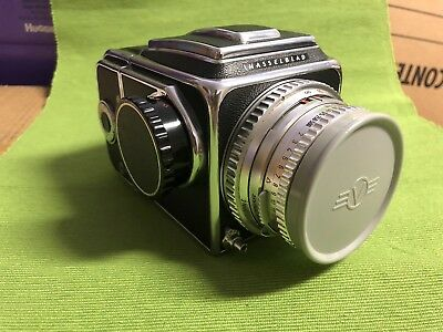 Hasselblad 500C Film Camera with Planar 80mm Carl Zeiss Lens,A12 back.EXCELLENT.