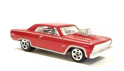 Brand New Hot Wheels 2011 Red 64 Chevelle Ss Loose Very Good