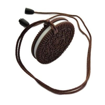 Baby Teething Toys Educational Sensory Infant Toddlers Chocolate Cookie Shaped