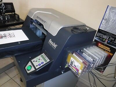Anajet Sprint Brother GT 541 Speed treater auto re-treatment DTG printing.
