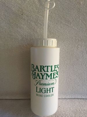 Vintage Bartles And Jaymes Water Bottle - Original Owner Never Used - Mint