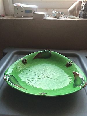 Carlton Ware Australian Design Triangular bowl - with black back stamp