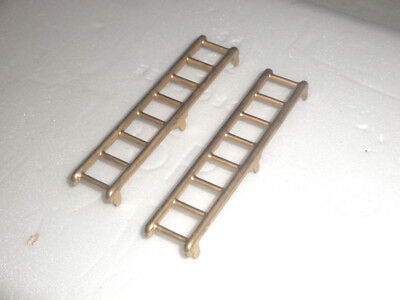 1 Pair Brass ladders for Lionel 200-500 series Box, stock, & Refrigerator Cars