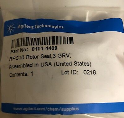 Used HP Agilent 0101-1409 Rotor seal, 3 grooves, max 600 bar for TCC or G1158A