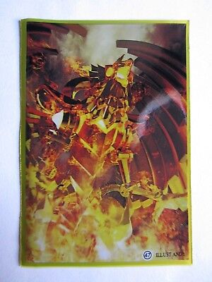 50 Yugioh Small Size Card Sleeves Deck Protector - The Winged Dragon of Ra