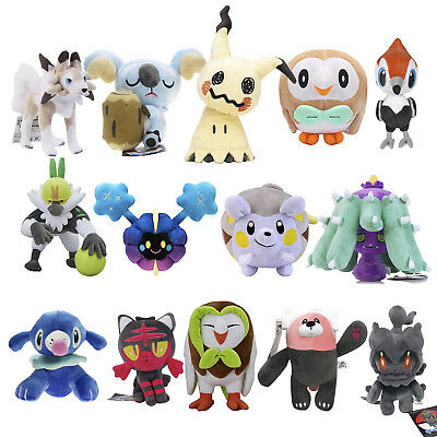 Pokemon Center Character Toys - Cosmog Marshadow Dartrix Mimikyu Togedemaru Doll