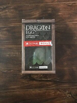 Geek Fuel Game Of Thrones Dragon Egg Toothbrush Holder and Storage Kit 