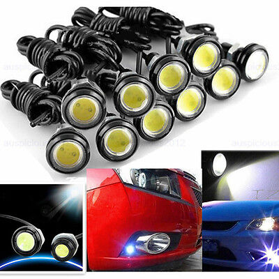 10x DC12V 9W Eagle Eye LED Daytime Running DRL Backup Light Car Auto Lamp LJ