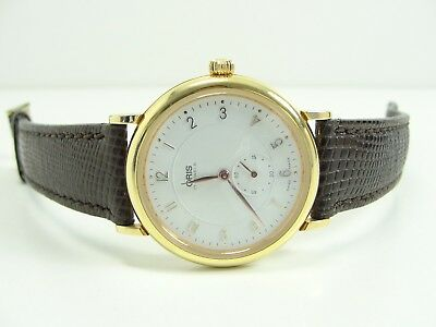 Elegante Oris 7423 Herren Uhr Handaufzug 17 Jewels Vintage Mens Watch Very Rare