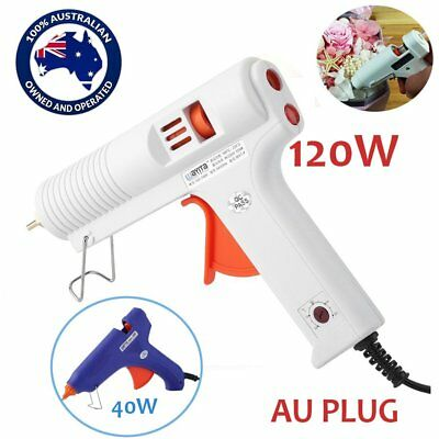 Hot Glue Gun Melt Guns Craft Sticks Cord Mini Large Scrapbooking 40/120W Aussie