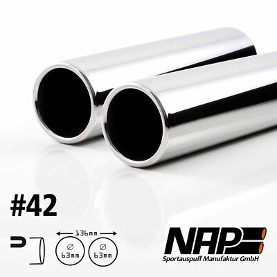 Nap Weld-On End Pipe 0 3/32x2 15/32IN WITH ABE Stainless Steel