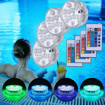 Floating Underwater RGB LED Disco Light Glow Show Swimming Pool Lamp Canada