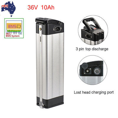 36V 10AH E-bike Lithium Battery Cell Pack for 350W Electric Bicycle Lotus Head
