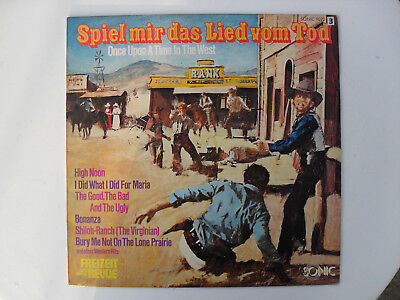 Spiel mir das Lied vom Tod - Once Upon A Time In The West LP Vinyl Schallplatte